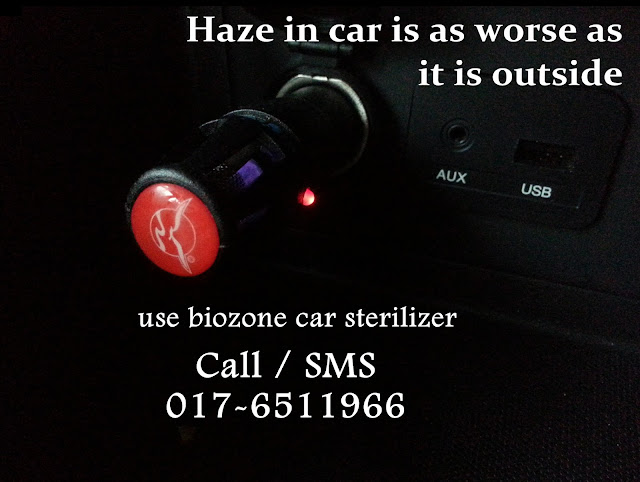 car sterelizer haze jerebu tips haze jerebu malaysia API IPU