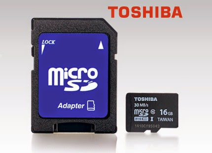Karta Toshiba microSD 16 GB z Biedronki