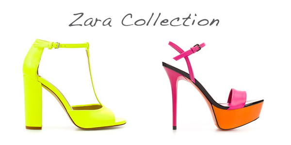 Zara fluo shoes on www.designandfashionrecipes.com