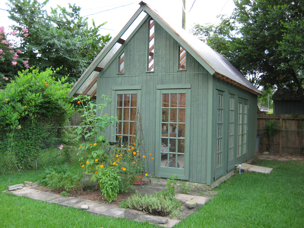 Dreamy Garden Sheds Forget the man cave, its all about the SheShed!