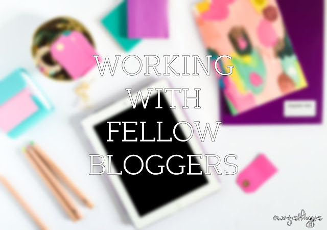 working with fellow bloggers