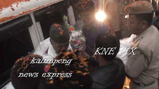 Dr Harka Bahadur Chettri returns kalimpong