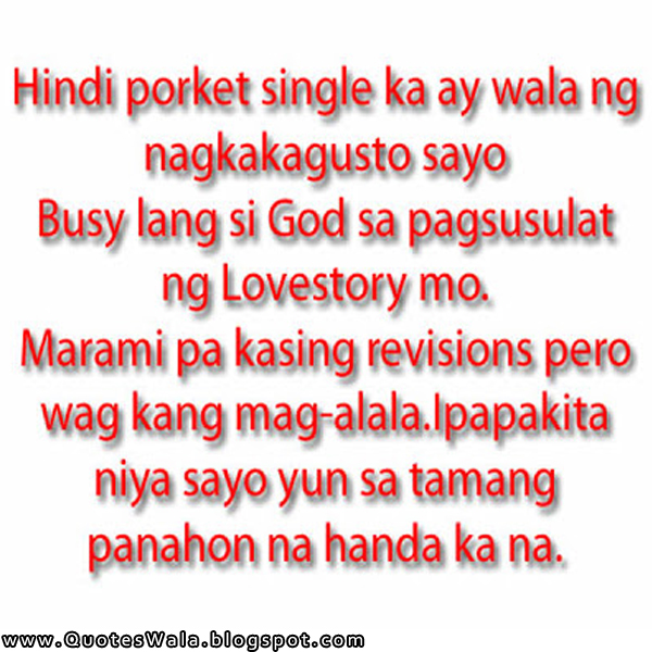 Tagalog Love Quotes | Daily Quotes at QuotesWala