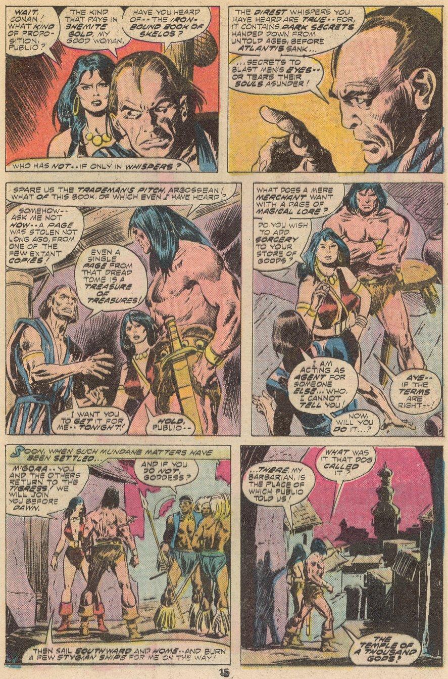 Conan the Barbarian (1970) Issue #66 #78 - English 10
