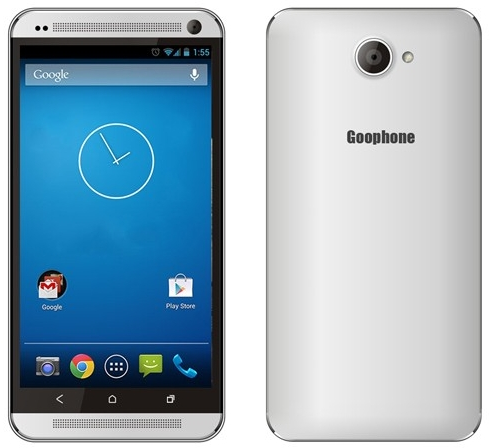 Goophone M8 and HTC One Android Smartphones