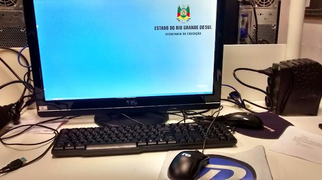 Computador com Linux nas Escolas