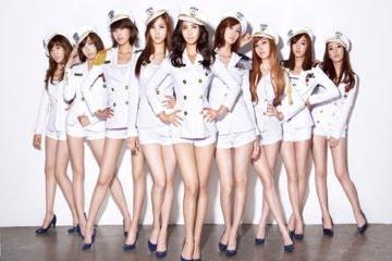 韓國少女時代 美腿女團