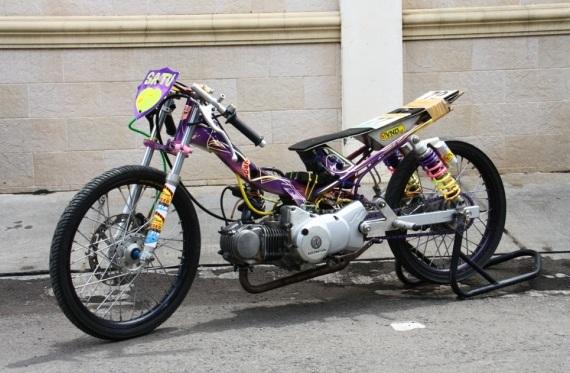 Modifikasi Suzuki Nex Drag Bike Terbaru 2015