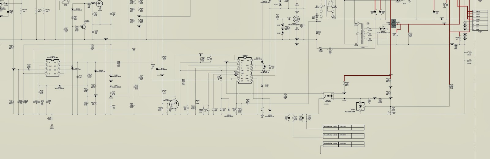 Sony Klv 32l500a Power Supply Schematicon Power Supply Circuit Diagram
