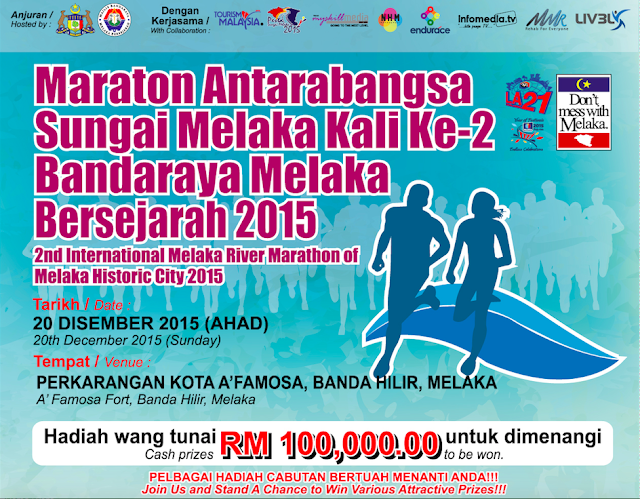 Participate in Melaka River International Marathon 2015