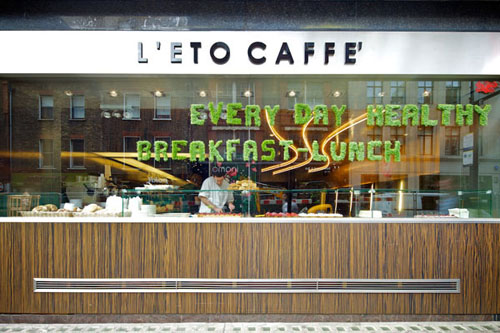 The Everyday Healthy of L'Eto Caffe'