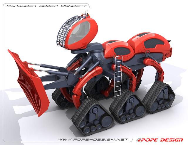 camiones+del+futuro+bulldozer+hormiga+africana+6+patas+marauder+3