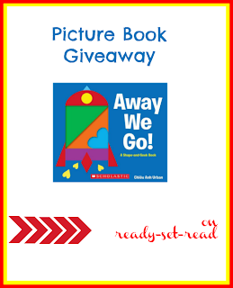 shapes preschool theme, Away we Go, Giveaway