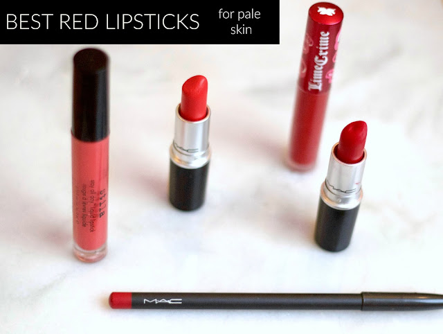 best red lipstick for pale skin
