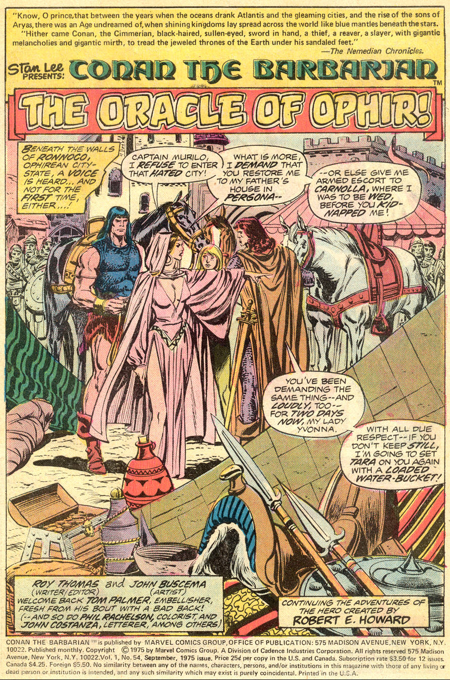 Conan the Barbarian (1970) Issue #54 #66 - English 2