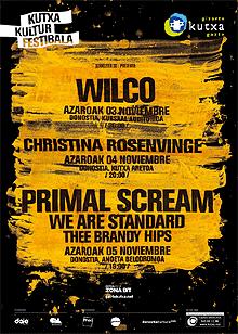 Ya está aquí el Kutxa Kultur Musika Festibala con Primal Scream
