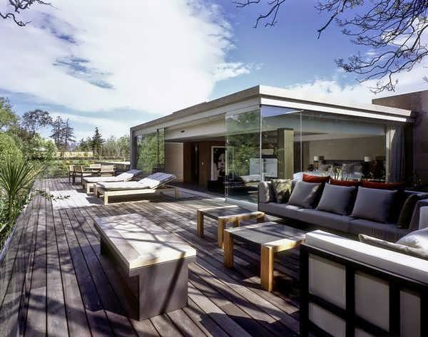 Contemporary mexican house plan design with interiors are for Modern house design mexico