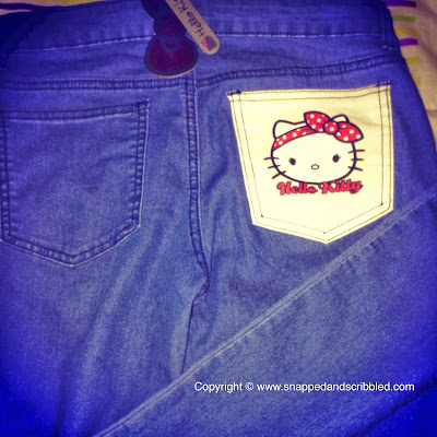 Hello Kitty Blue Jeans