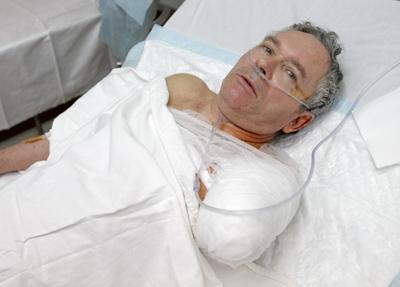 Фото Укринформ: жертва взрыва