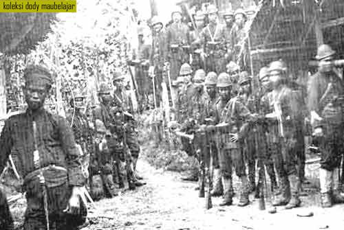 Foto-foto Pasukan Marsose Belanda di Aceh