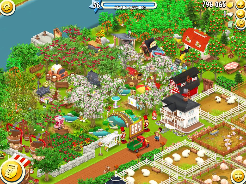 Evoluciona tu granja en Hay Day