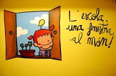 L'escola, una finestra al món!