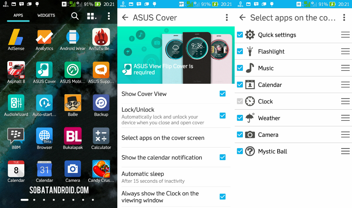 Review ASUS Cover KW ZenFone 2