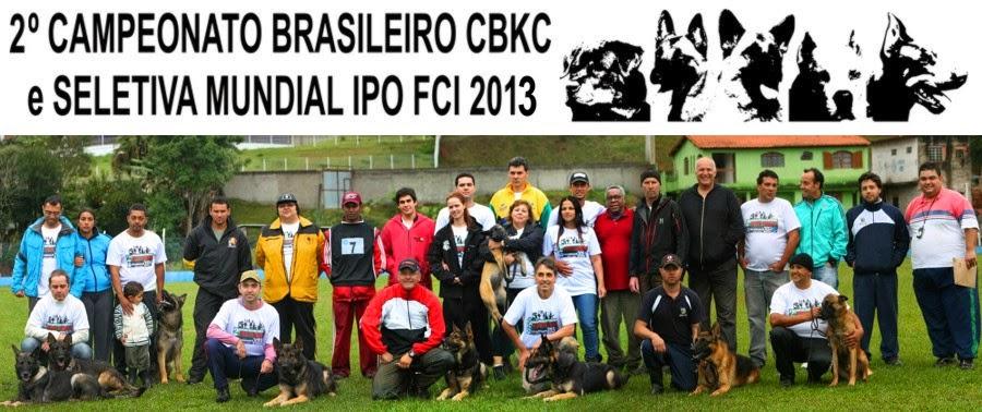 Campeonato Brasileiro CBKC e Seletiva FCI 2013