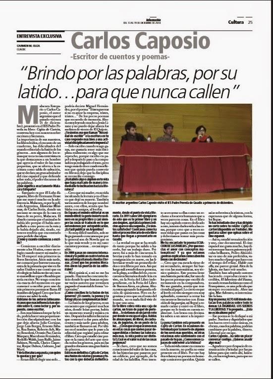 Entrevista a Carlos Caposio