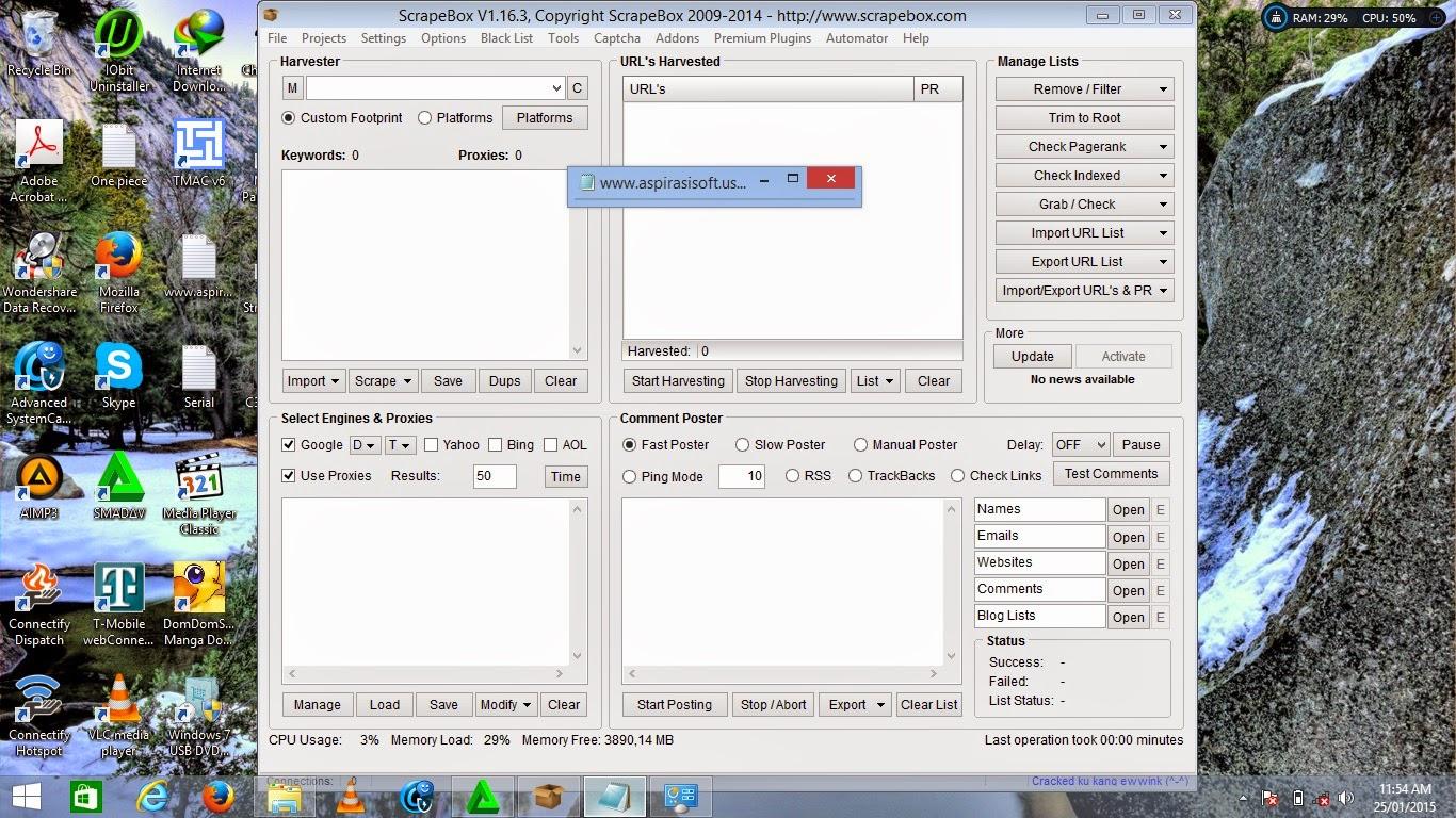 Scrapebox 1.16.3 Full Activator - MirrroCreator