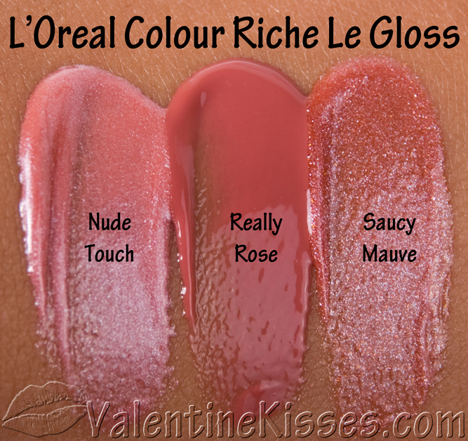 now lets see each shade individually loreal colour riche le gloss - Gloss Color L Oral Professionnel