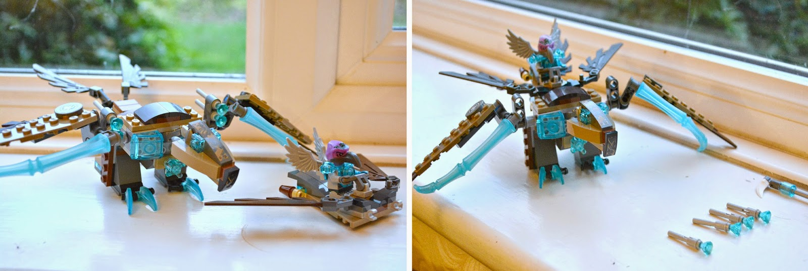 LEGO Family Blogger, LEGO CHIMA Vardy's Ice Vulture Glider, kid's review