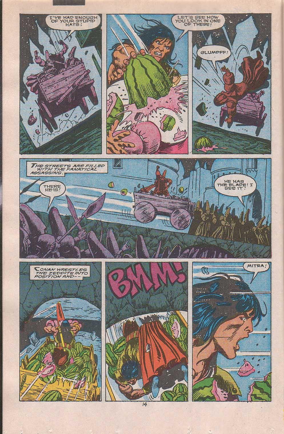 Conan the Barbarian (1970) Issue #216 #228 - English 11