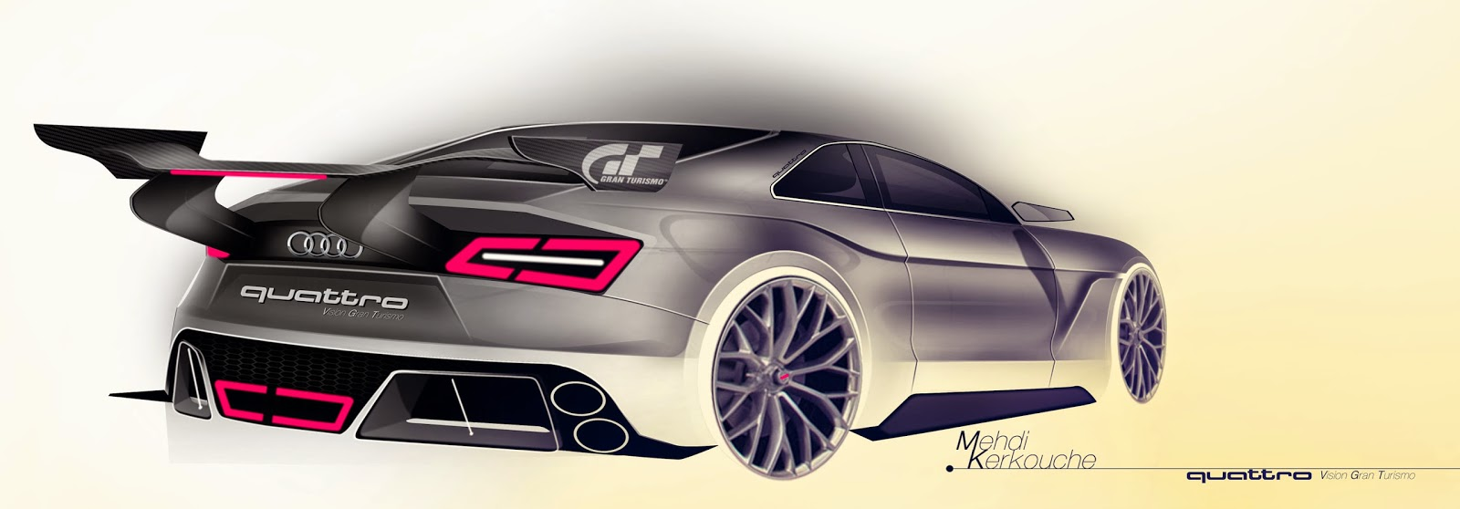Audi Vision Gran Turismo Mehdi Kerkouche