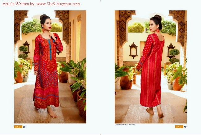 LSM Fabrics Kurti Collection 2014