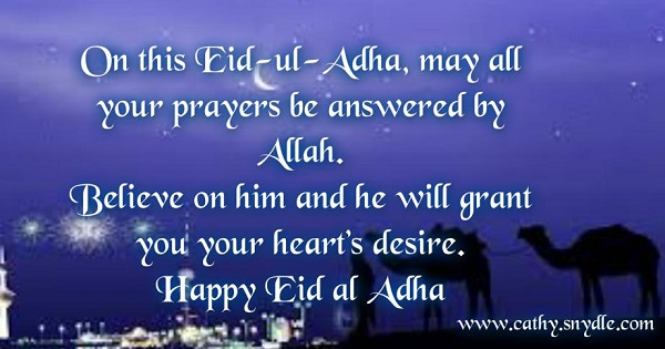 Prayers on Eid al Adha