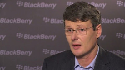 Thorsten Heins CEO de Blackberry
