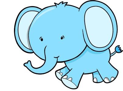 para imprimir elefante con globo dibujo de elefante para imprimir
