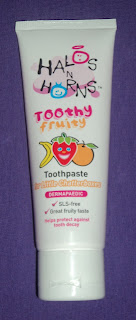 Halos N Horns Fruity Toothpaste