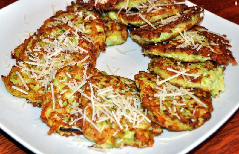 Crispy Zucchini FrittersGooseberry Patch Recipe #10!Beyer Beware