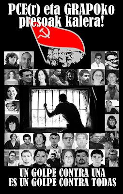 ¿el PCE(r) a cambiado su Linea Política? Amnistia+presoak