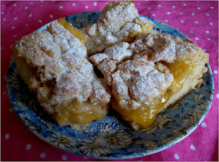 lemon slice crumble cake elevenses treat teatime