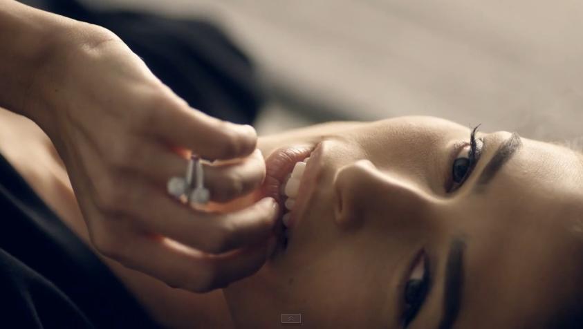 Come si chiama modella pubblicità Stroili Oro 2015