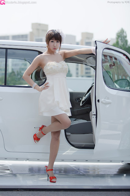 7 Seo Yoon Ah for Nissan Cube-very cute asian girl-girlcute4u.blogspot.com