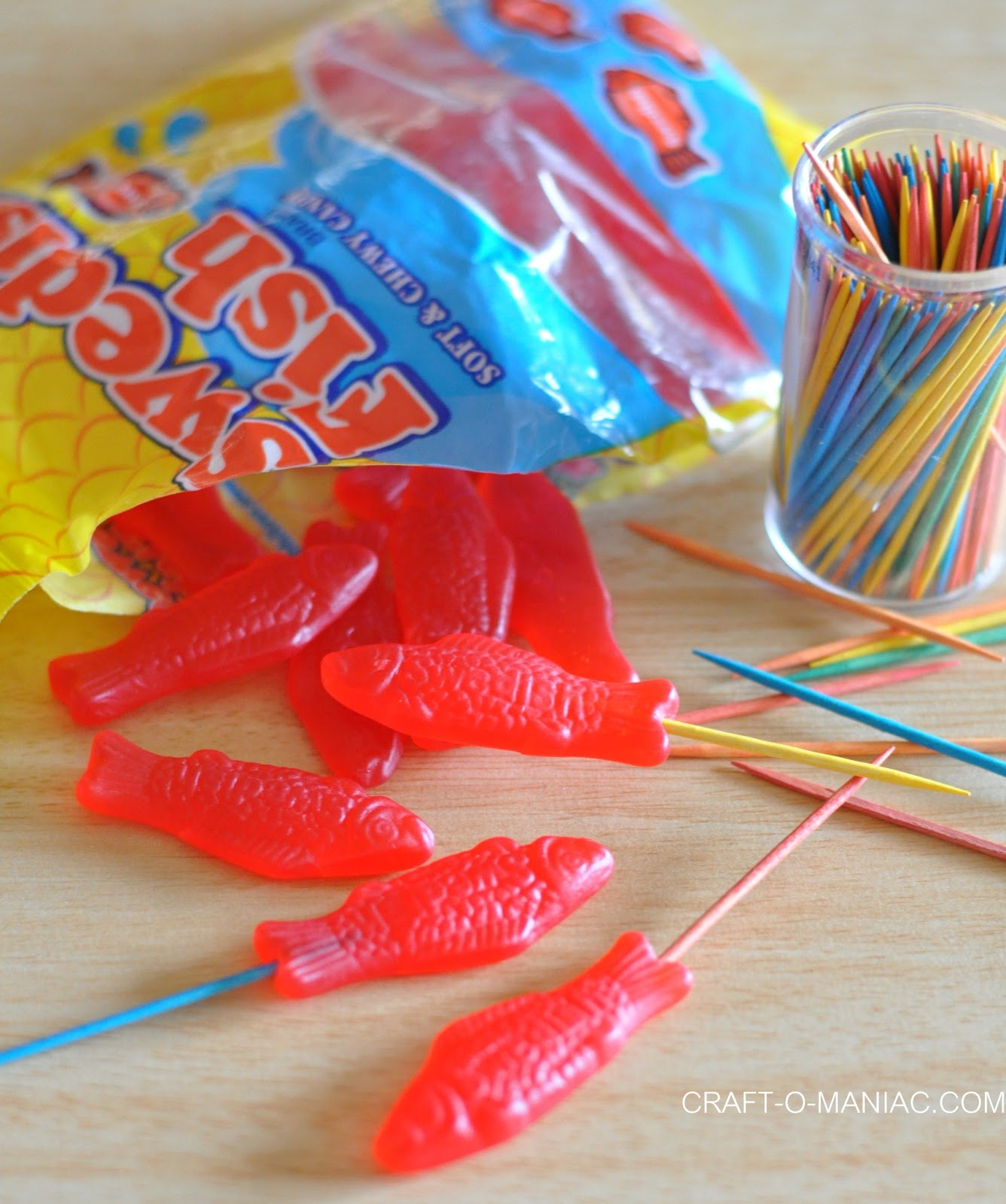 Chocolate dipped swedish fish craft o maniac for Who makes swedish fish