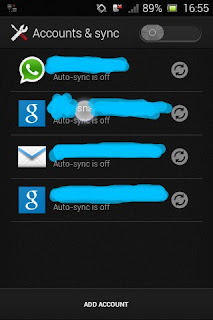 Sinkronisasi Email, sync, email, gmail, android