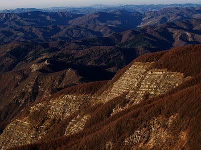 Panorama da Monte Falco
