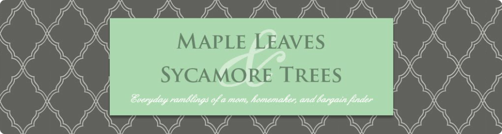 Maple Leaves &amp; Sycamore Trees