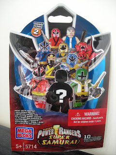 Power Rangers Super Samurai Mega Bloks Package