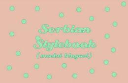 Serbian Stylebook
